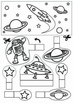 Afbeeldingsresultaat voor knutselen de ruimte