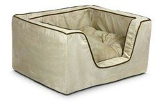 Snoozer Pet Products Luxury Square Nest Dog Bed Size: Large L x W x H), Color: Buckskin X 23, Dog Kennels For Sale, Cool Dog Houses, Bolster Dog Bed, Cozy Place, Pet Beds, Bed Furniture, Animal Pillows, Dog Supplies