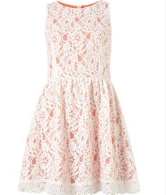 Coral & Lace!