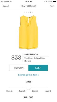 This is very pretty and bright, like you're wearing a piece of sunshine. I would really like this top in my wardrobe.