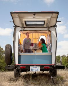 Cricket Trailer designed by architect Garrett Finney. Photo by: Sarah Wilson   Read more: http://www.dwell.com/articles/Snug-as-a-Bug.html
