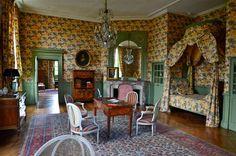 La chambre Lowendal au château de la Ferté Saint Aubin