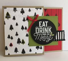 reallyrobinstamps.com, Stampin' Up! Merry Little Labels stamp set, Merry Little Christmas DSP