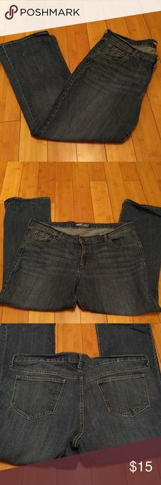 """Sale! EUC Old Navy Flirt jeans EUC barely worn, Old Navy """"The Flirt"""" curvy fit boot cut jeans, women's size 16 Short. Medium wash. No flaws! Old Navy Jeans Boot Cut"""