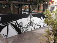 ALEX SENNA http://www.widewalls.ch/artist/alex-senna/ #AlexSenna #graffiti #streetart #urbanart #mural #contemporary