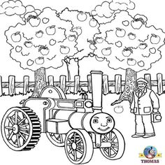 thomas the train coloring pages kids world | coloring pages ...