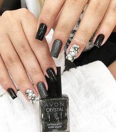 pretty matte nail art designs ideas spring 2019 page 27 Cute Toe Nails, Cute Acrylic Nails, Love Nails, My Nails, Nail Art Designs, Acrylic Nail Designs, Nails Design, Stylish Nails, Trendy Nails