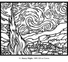 Loads of coloring pages from real artists like Cassatt etc Art