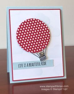 Beautiful Ride, Celebrate Today, Dots for Days, Stampin\' Up!, Brian King, GDP023