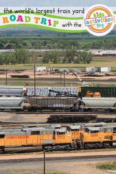 The World's Largest Train Yard in Nebraska