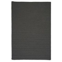Charlton Home Glasgow Gray Solid Indoor/Outdoor Area Rug Rug Size: