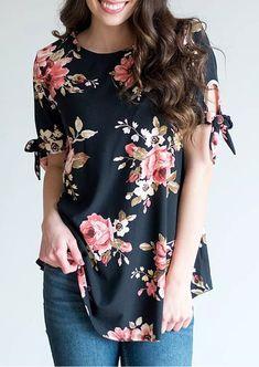 Floral blouses