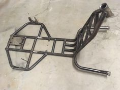 This Budget Motorised Drift Trike frame is perfect for those that Can't weld or fabricate Comes unpainted . Drift Trike Kit, Drift Trike Parts, Drift Trike Frame, Drift Trike Motorized, Custom Trikes, Custom Choppers, Go Kart Motor, Go Kart Chassis, Drift Kart