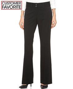 Alfani Two-Button Curvy-Fit Pants