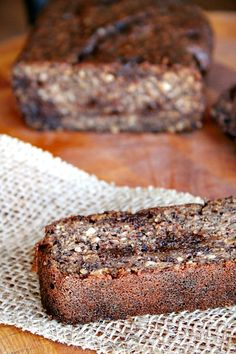 Banana Bread {grain free} with Chocolate Chips   Heather's French Press   #glutenfree #grainfree #bananabread