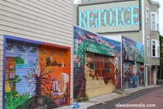The amazing murals in Mission - San Francisco