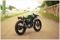 Cafe Racer na prática: CBX 200 Strada | Garagem Cafe Racer