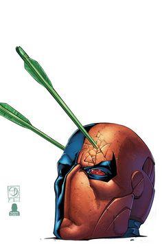 GREEN_ARROW_50 : En nuestra edición de 50 aniversario, Flecha Verde y la raza Deathstroke en todo el mundo para encontrar el Miracle Man, cuya sangre puede curar cualquier enfermedad!  Y la Tarántula regresa, pero incluso con su ayuda, ella y Green Arrow no son rival para el asesino perfecto! | masacre80