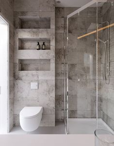 Architecture bathroom - Project Kiev, Lesi Ukrainki Ave , design of apartment, modern style, photo Bathroom Design Luxury, Modern Bathroom Design, Grey Bathrooms, Small Bathroom, Bathroom Ideas, Budget Bathroom, Master Bathroom, Shower Cubicles, Toilet Design
