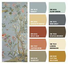 ColorSnap by Sherwin-Williams – ColorSnap by Karol W. Room Colors, Wall Colors, House Colors, Colours, Colour Schemes, Color Combos, Paint Colors For Home, Cabin Paint Colors, Warm Colour Palette