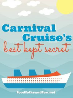 Carnival Cruise Line's Best Kept Secret