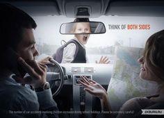 """""""Piensa en ambos lados"""". Campaña de prevención contra la conducción temeraria. Daniel A."""
