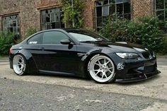 BMW E92 M3 black - more amazing cars here: http://themotolovers.com☆~☆