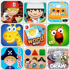 Top iPod & IPad Kid Game Apps (October 2011 Edition)