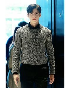 Cha Eun Woo, Lee Dong Min, Eunwoo Astro, My Sunshine, Korean Actors, Actors & Actresses, Crushes, Men Sweater, Boyfriend