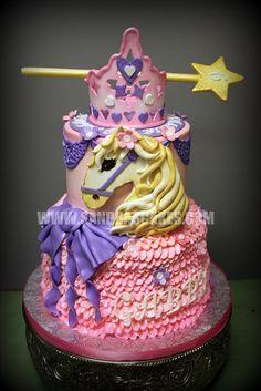 PRINCESS HORSE CAKE