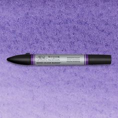 Winsor & Newton Watercolor Markers are expertly crafted with dual nibs to enable you to achieve unrivalled definition and control. Dioxazine Violet is a vivid mid-shade purple pigment and when undiluted it can be used as a deep black. Dioxazine Violet is a transparent coal tar pigment and was introduced into the Winsor & Newton range in the 1960s. #ArtMarkers #ArtSupplies #Art