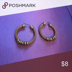 NY&Co gold earrings! Never worn! New York & Company Jewelry Earrings