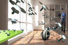 The Mab micro-robots will flit around your house and do the cleaning for you. This upcoming device will take one more chore off your hands.