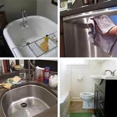 How to Make Your Own Cleaner for the Sink, Shower, Tub, and Toilet
