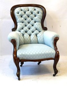 Buy Online, View Images And See Past Prices For A Victorian Mahogany Show  Wood Framed Armchair The Good Quality Frame Nicel. Invaluable Is The  Worldu0027s ...