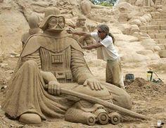 Detailed Star Wars Sand Sculptures (21 pics)