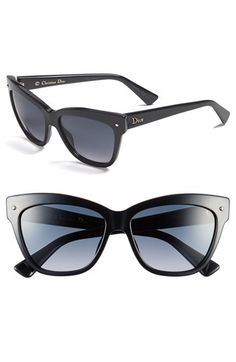 b97aee9e04 Dior  Jupon  55mm Retro Sunglasses available at  Nordstrom Valentino  Sunglasses
