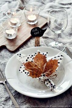 Mottainai: Una mesa de otoño