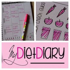 My Diet Diary 3 month food & exercise planner/tracker weightloss slimming record in Health & Beauty | eBay