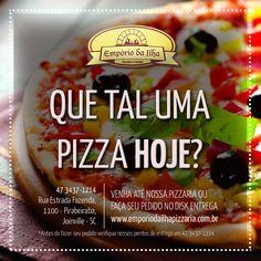 Que tal uma pizza hoje? Venha até nossa pizzaria na Rua Estrada Fazenda, 1100 - Rio Bonito (Pirabeiraba) Joinville - SC, ou LIGUE e faça seu pedido no 47 3437-1214!  Estamos em um novo endereço, agora com um ambiente amplo onde podemos oferecer muito mais!  VENHA CONHECER! contato@emporiodailhapizzaria.com.br | www.emporiodailhapizzaria.com.br  #emporiodailha #pizzaria #pizzariaemjoinville #pizzas #massas #emporiodailhapizzaria #pizzarianopirabeiraba   * Verifique nossos pontos de entrega.