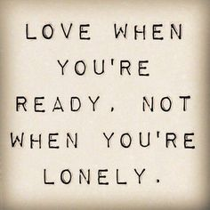 #LONELY#LOVE