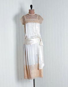 Wedding Dress 1920s Timeless Vixen Vintage