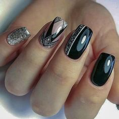 50 Trendy Nails New Trend Are Perfect for This Fall 2020 These trendy Nail Designs ideas would gain you amazing compliments. Check out our gallery for more ideas these are trendy this year. Pink Nail Art, Pink Nails, Gel Nails, Acrylic Nails, Cute Nail Art Designs, Black Nail Designs, Xmas Nails, Christmas Nails, Trendy Nails