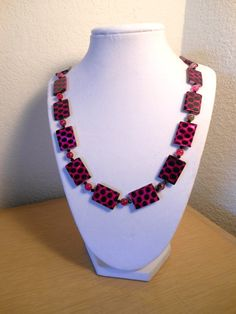 The Polka Dot/Pink and black color by CreationsbyMaryEllen on Etsy, $23.99