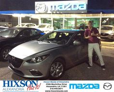 Congratulations to Bryce Futrell on your #Mazda #Mazda3 purchase from Brandon Holloway at Hixson Mazda of Alexandria! #NewCar
