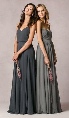 Sophisticated Jenny Yoo bridesmaid dresses; Lookbook Photographer: JJ Ignotz Photography | Campaign Shoot Photographer: Caroline Tran Photography