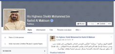 Sheikh Mohammed bin Rashid Al Maktoum used his Facebook page to announce worldwide all the national innovation strategies. United Arab Emirates, 2009