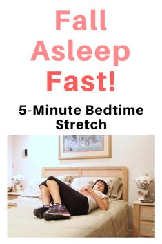 Use this short stretch sequence to relax your body, clear your mind and get a good night's sleep! Gym Workout For Beginners, Fitness Workout For Women, Woman Workout, Balance Exercises, Back Exercises, Chair Exercises, Family Fitness, Senior Fitness, Bedtime Stretches