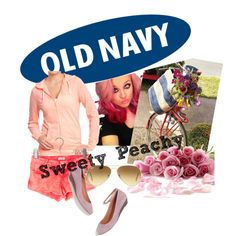 Old Navy Peach by hartantinora on Polyvore
