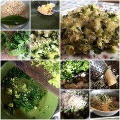 Backtoeden: Arroz y Brócoli gratinado Sprouts, Vegetables, Food, Gratin, Parsley, Mint, Brown Rice, Lunches, Essen